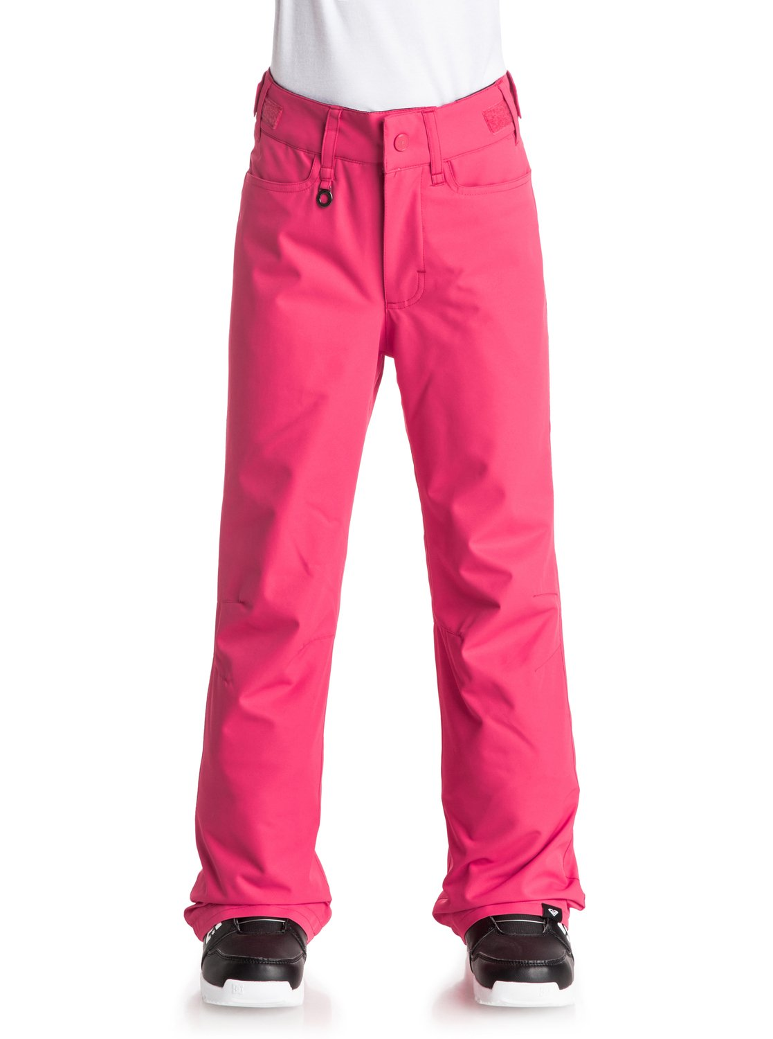 Сноубордические штаны BackyardThe Backyard snow pants for girls have been constructed with 10K ROXY DryFlight® technology waterproofing for reliable waterproof and breathable protection. An easy-to-wear regular fit allows space to move and is complemented by Warmflight® level 2 insulation for low-bulk warmth and critically-taped seams for extra protection in the most exposed areas.<br>