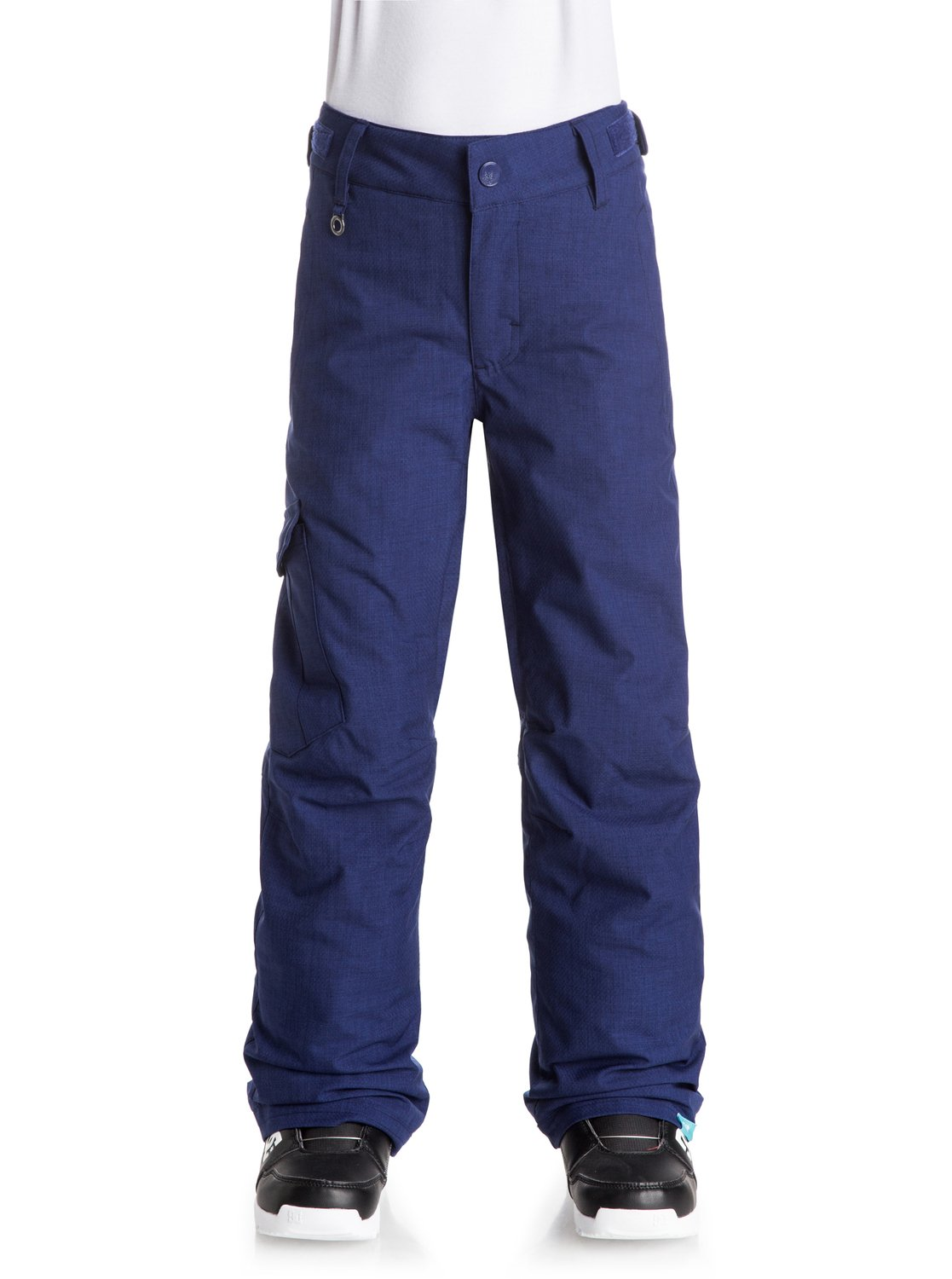 Сноубордические штаны TonicLooser fit for a relaxed cargo look, the Tonic snow pants for girls complete the look with patched side pockets and a drawcord adjuster on the waist. Crafted with 10K ROXY DryFlight® technology waterproofing for reliable waterproof and breathable protection in a wide range of winter conditions. An easy-to-wear regular fit allows space to layer and is complemented by Warmflight® level 2 insulation for low-bulk warmth, lightweight, breathable taffeta and critically-taped seams for extra protection in the most exposed areas.<br>