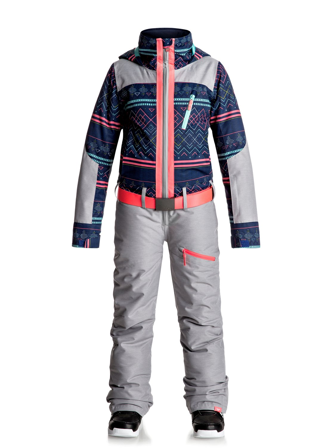 We handpicked this because who doesn't love the quality of Roxy? Before you venture out into the snowy cold, wrap your little doll in Roxy Baby Snow Suits. Your sweet pea is sure to love the snowsuit, thanks to the cuddly soft Teddy Bear Fur fleece lining, warming insulation, and .