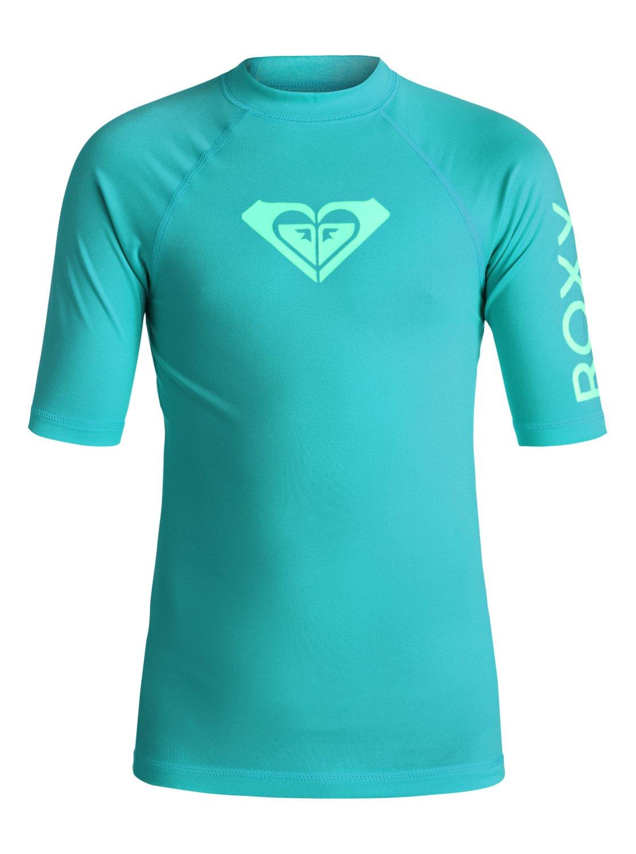 Серфовый купальник для девочек (7-14 лет) Whole Hearted Roxy Для девочек (7-14 лет) Whole Hearted Rash Guard Swimsuit