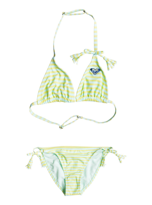 Girl's Dotty Stripy  Bikini Set