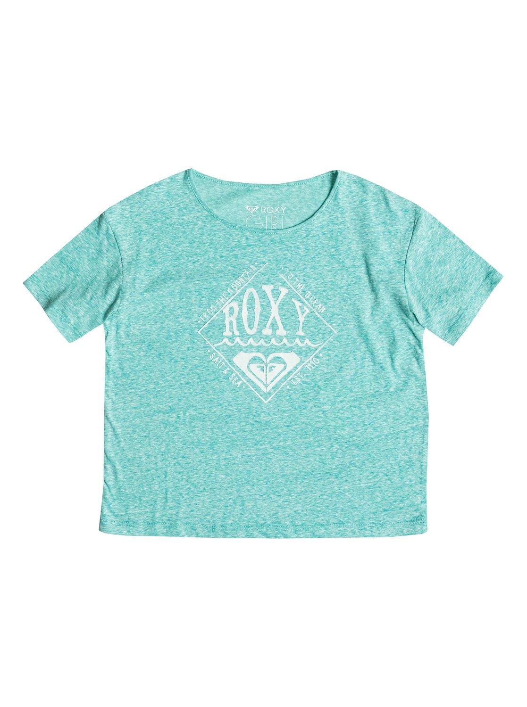 Футболка RG Fashion с круглым вырезом Roxy