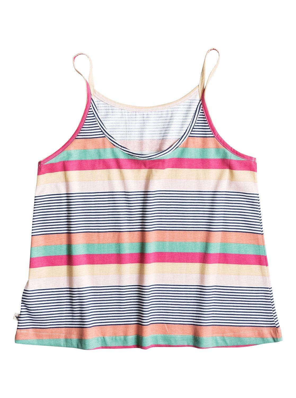 Roxy™ Get Free Printed - Cami - Camiseta - Niña - Blanco