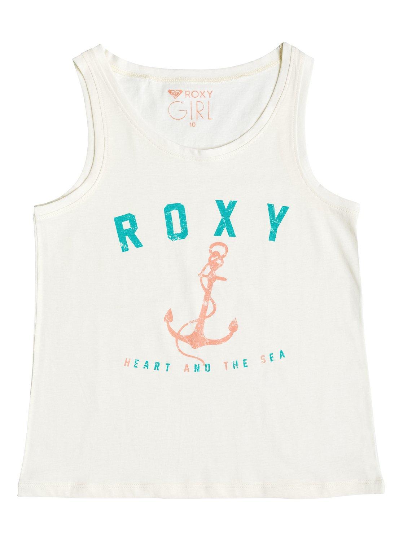Girls Basic Anchor TankМайка для девочек Basic Anchor от ROXY. <br>ХАРАКТЕРИСТИКИ: мягкий натуральный трикотаж, декоративный принт спереди, вшитый в боковой шов ярлык ROXY. <br>СОСТАВ: 100% хлопок.<br>