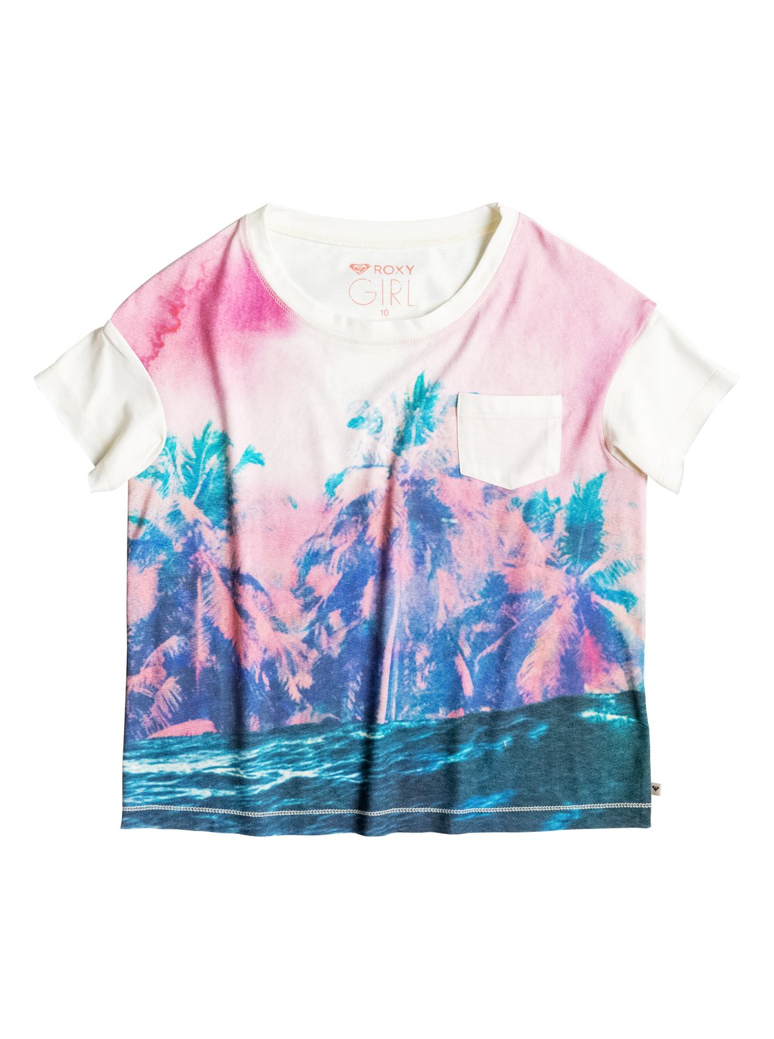 Футболка для девочек Remind Me Waves For Day Roxy Girl's Remind Me Waves For Day T-Shirt