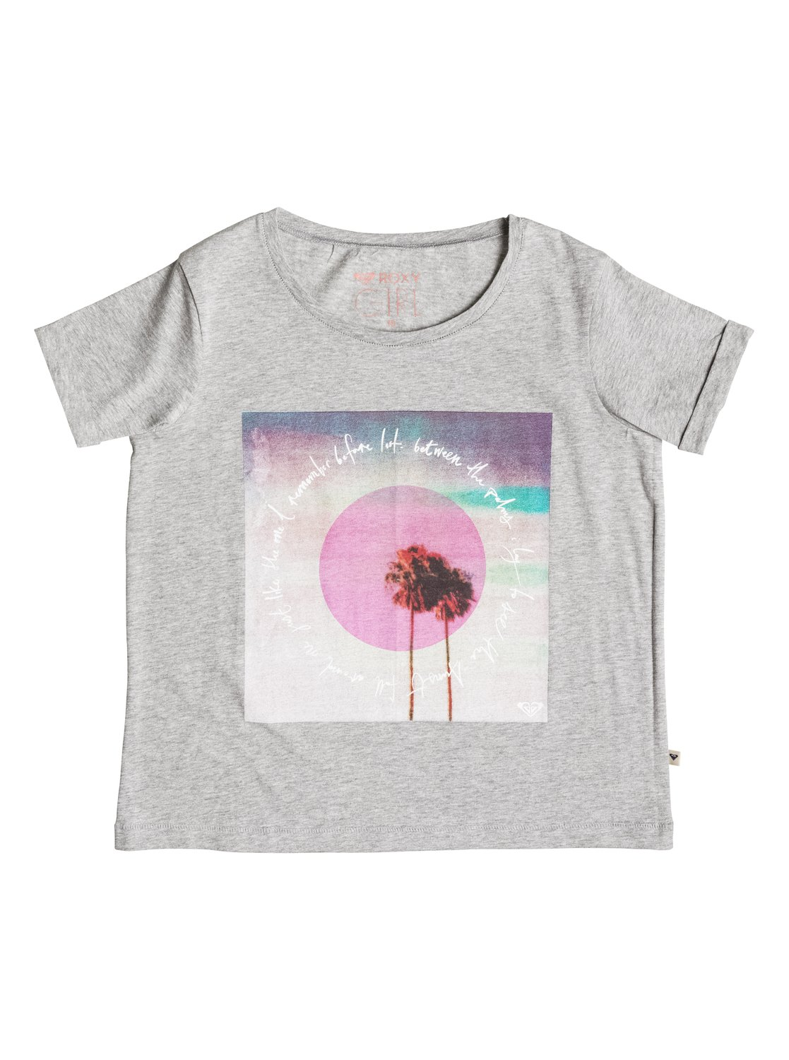 Girl's Rolly Dolly Between Palms T-Shirt