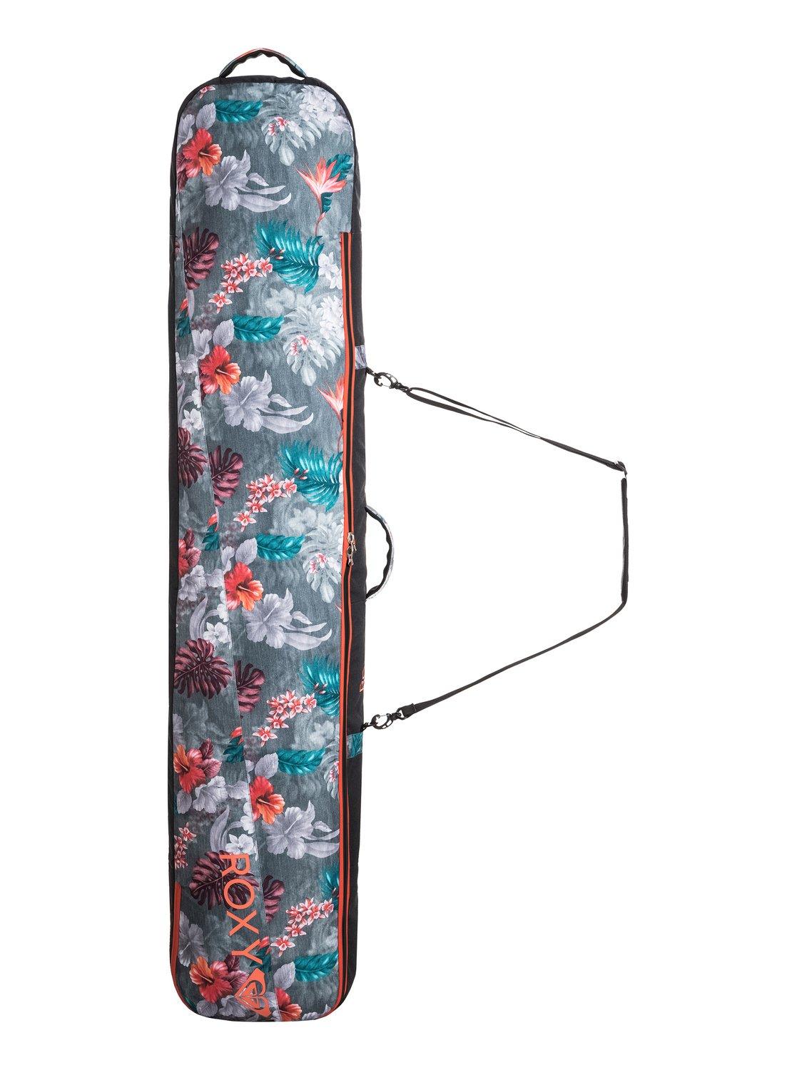 Мягкий переносной сноубордический чехол RoxyВслед за ошеломительным успехом капсульной серфовой коллекции Roxy POP Surf мы представляем еще одну выдающуюся линейку: Roxy POP Snow! Яркая неоновая эстетика горных склонов 80-х, выгодно подчеркивающие фигуру фасоны и лучшие катальные технологии — готовьтесь к хаосу на склонах, где все будут смотреть только на вас, но никак не перед собой!<br>