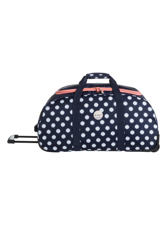 roxy distance apart large rolling duffle bag for women. Black Bedroom Furniture Sets. Home Design Ideas