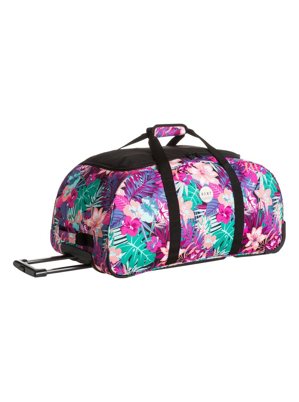 Distance Apart Large Rolling Duffle Bag Erjbl03038 Roxy