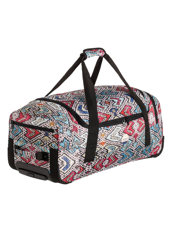 distance across large wheeled duffle bag erjbl03077 roxy. Black Bedroom Furniture Sets. Home Design Ideas