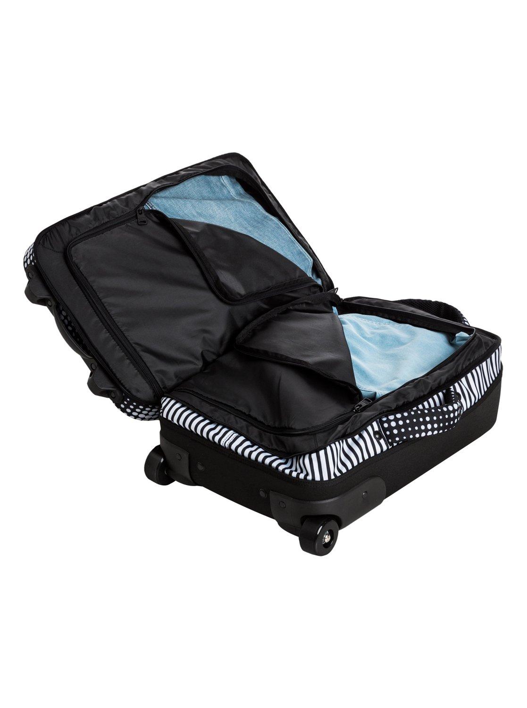 roll up handgep ck trolley erjbl03079 roxy. Black Bedroom Furniture Sets. Home Design Ideas