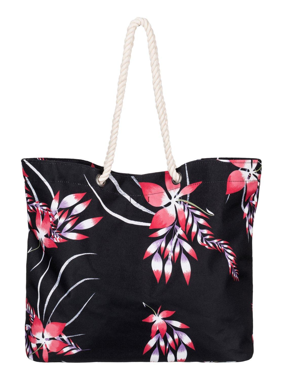 printed tropical vibe sac de plage imprim 3613372563546 roxy. Black Bedroom Furniture Sets. Home Design Ideas