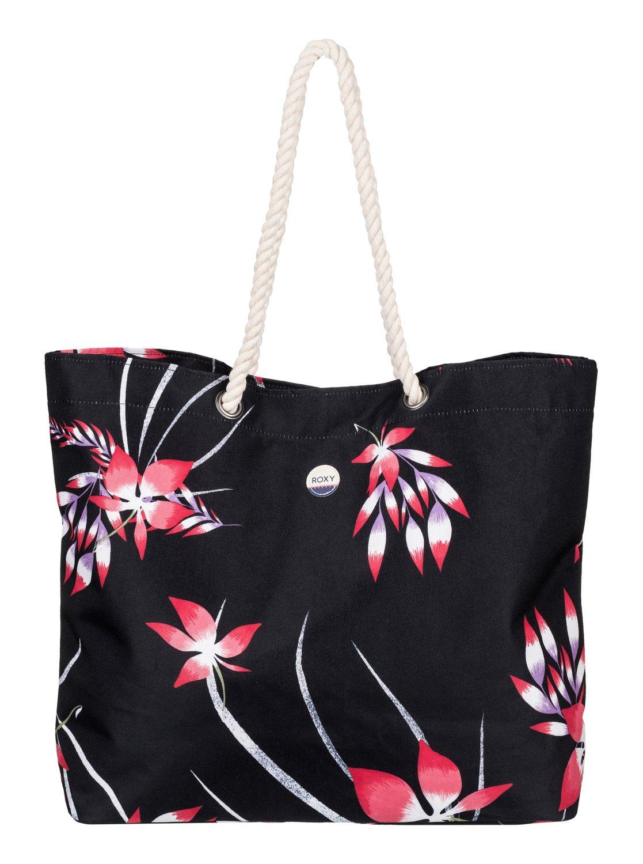 printed tropical vibe sac de plage imprim erjbt03049 roxy. Black Bedroom Furniture Sets. Home Design Ideas