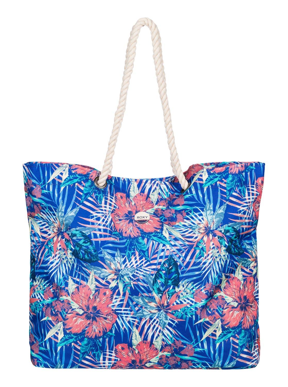 Printed Tropical Vibe - Bolsa de playa impresa para Mujer Roxy