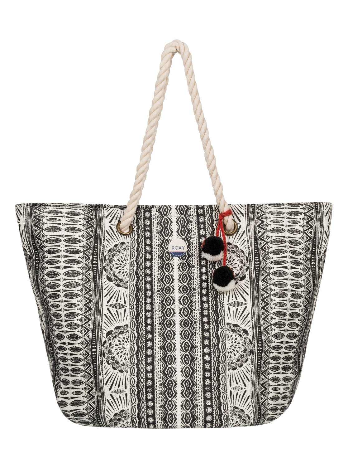 Sun Seeker Straw Beach Bag Erjbt03050 Roxy