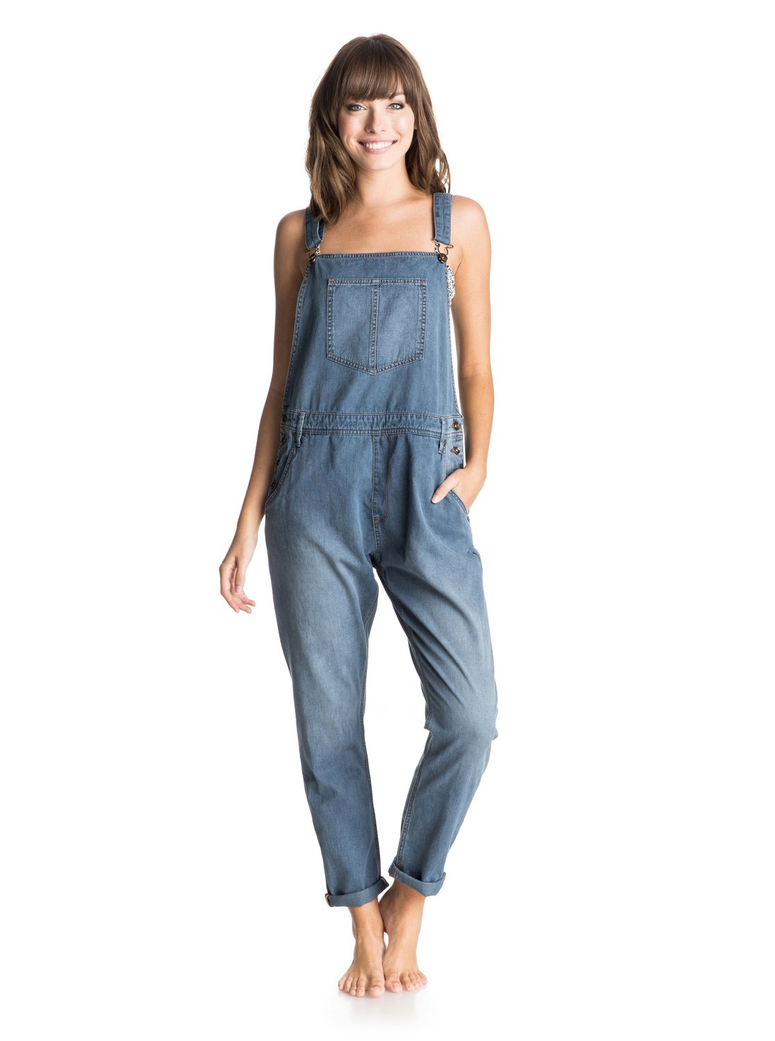 Women's Sea Foam Overalls