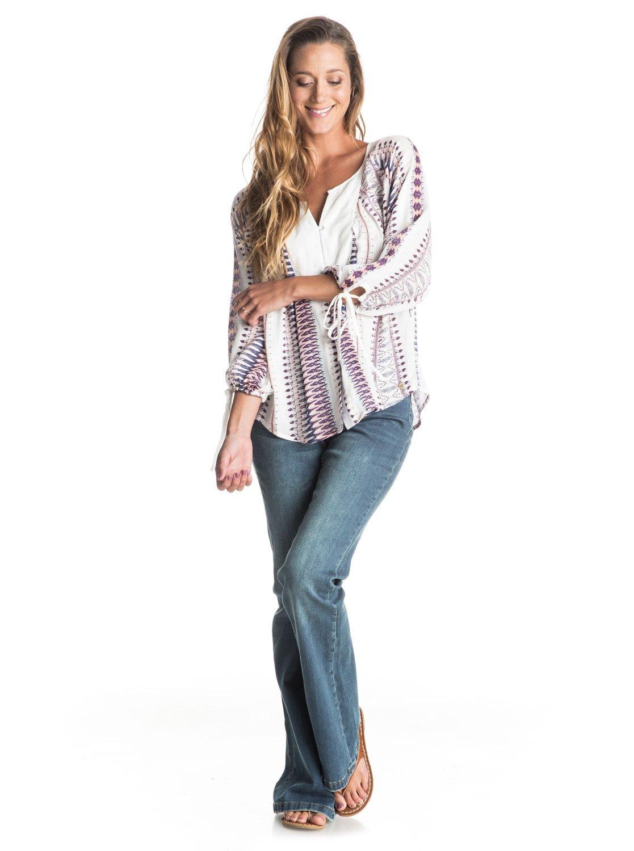 jane forever jeans mit schlag 3613371964993 roxy. Black Bedroom Furniture Sets. Home Design Ideas