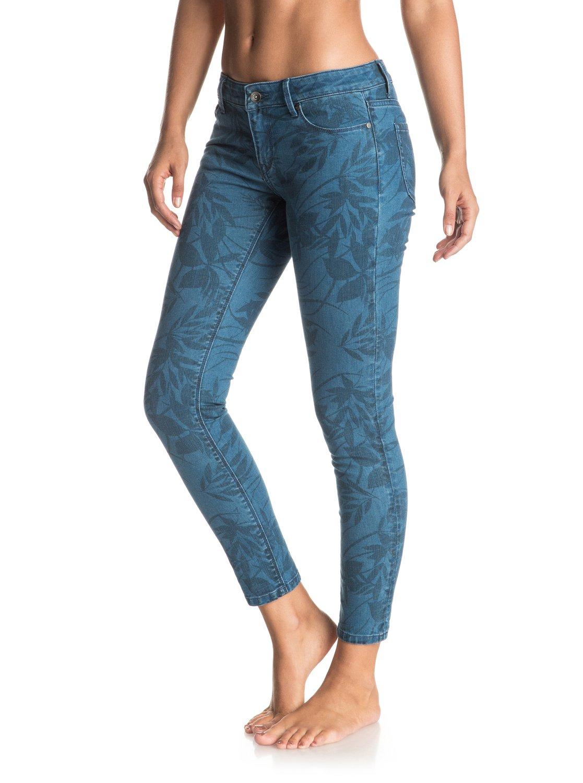 Sibling and printed skinny jeans