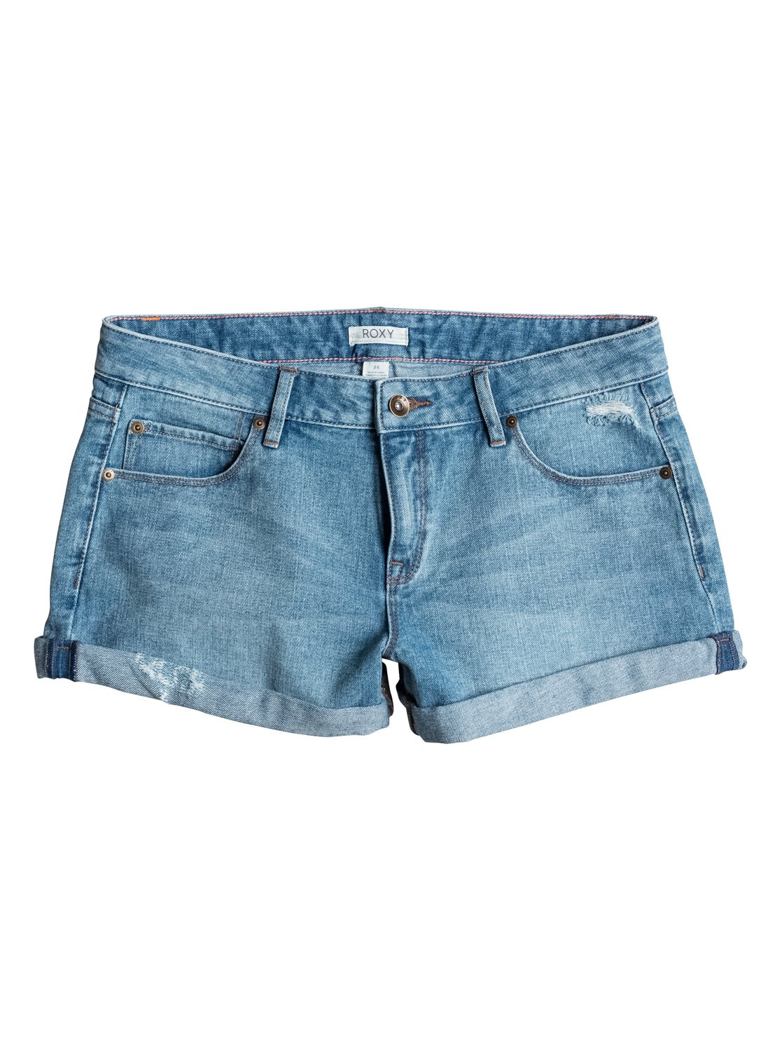 Midtown Vintage Med Blue Denim Shorts от Roxy RU