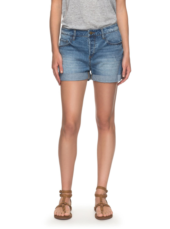 Green Turtle Cay - Denim-Shorts für Frauen - Blau - Roxy Roxy