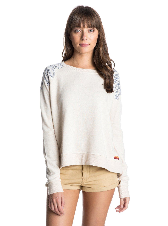 Girl So Fine BGirl So Fine B – новинка из коллекции одежды Roxy Весна-лето 2015. Характеристики: женский свитшот, легкая махровая ткань (235 г/м?). Дополнительно: смягчающая обработка, состав – 59% хлопок, 33% полиэстер, 8% район (вискоза).<br>