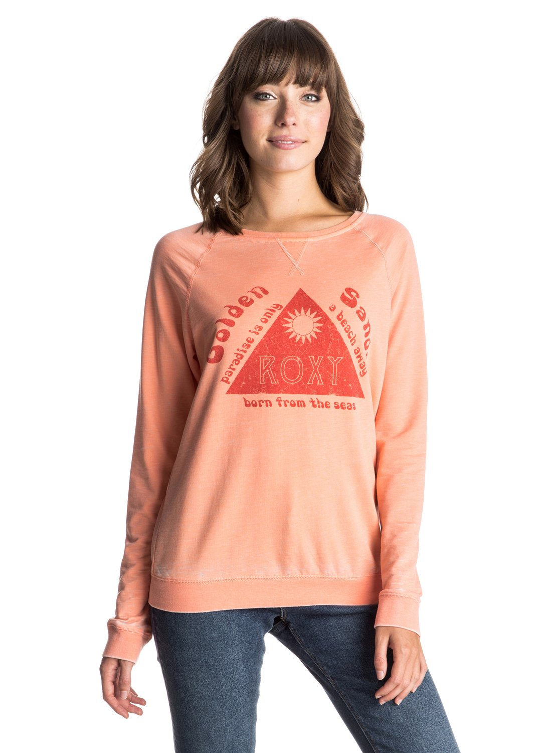 Свитшот Ray Of Light Golden Sands Roxy Ray Of Light Golden Sands Sweatshirt