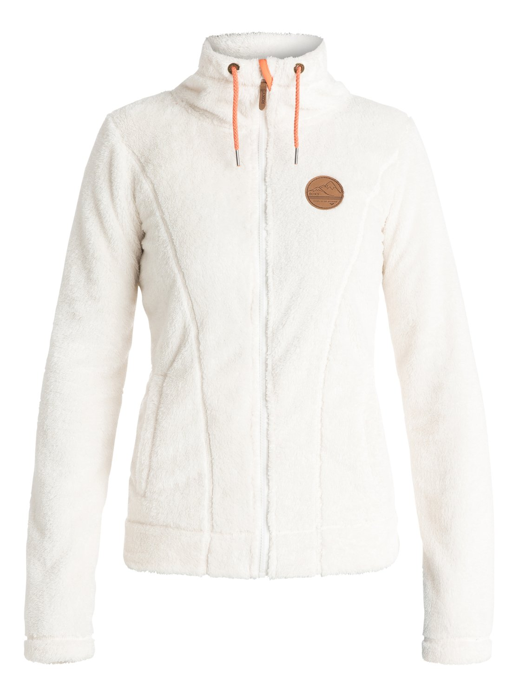 eskimo plush fleece jacket 3613371707101 roxy. Black Bedroom Furniture Sets. Home Design Ideas