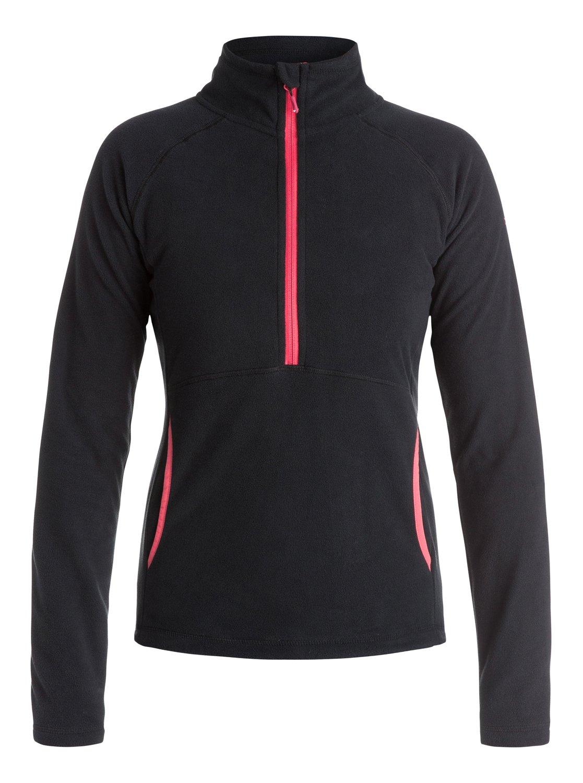 Флисовый пуловер на молнии Cascade