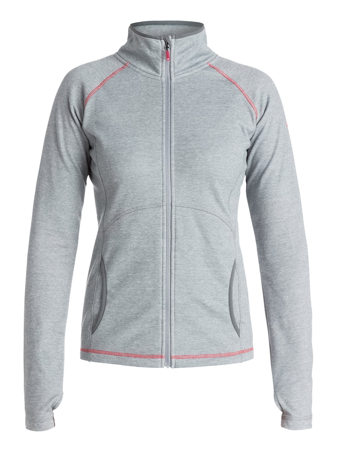 Куртка на молнии Harmony LurexThe Harmony Lurex zip-up technical jacket for women will have you sparkling on the slopes with its luxurious lurex stretch weave in silver and heather grey. Hand warmer pockets, contrast flatlock stitch details and thumbholes on the cuffs make this the go-to-piece for stylish layering.<br>