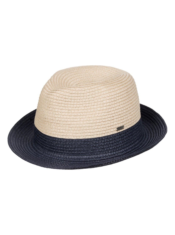 Соломенная шляпа MonoiЖенская соломенная шляпа Monoi от Roxy.ХАРАКТЕРИСТИКИ: разноцветный дизайн в стиле color block, соломенное изделие, металлический значок Roxy, размер 56 см ?.СОСТАВ: 100% бумага.<br>