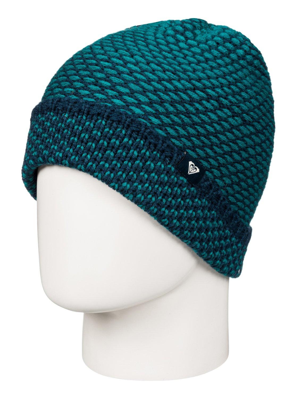 Шапка Angie шапка женская roxy fjord blue radiance