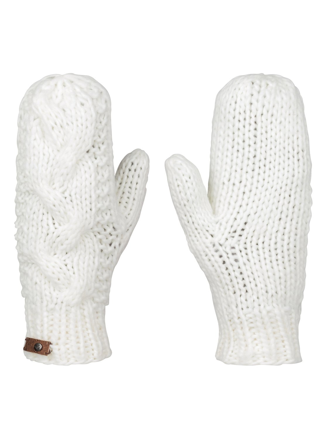There's nothing like a pair of twined mittens to keep the hands warm on a cold day. The inspiration for this pair came from a cake of Z-twist yarn—white on the .