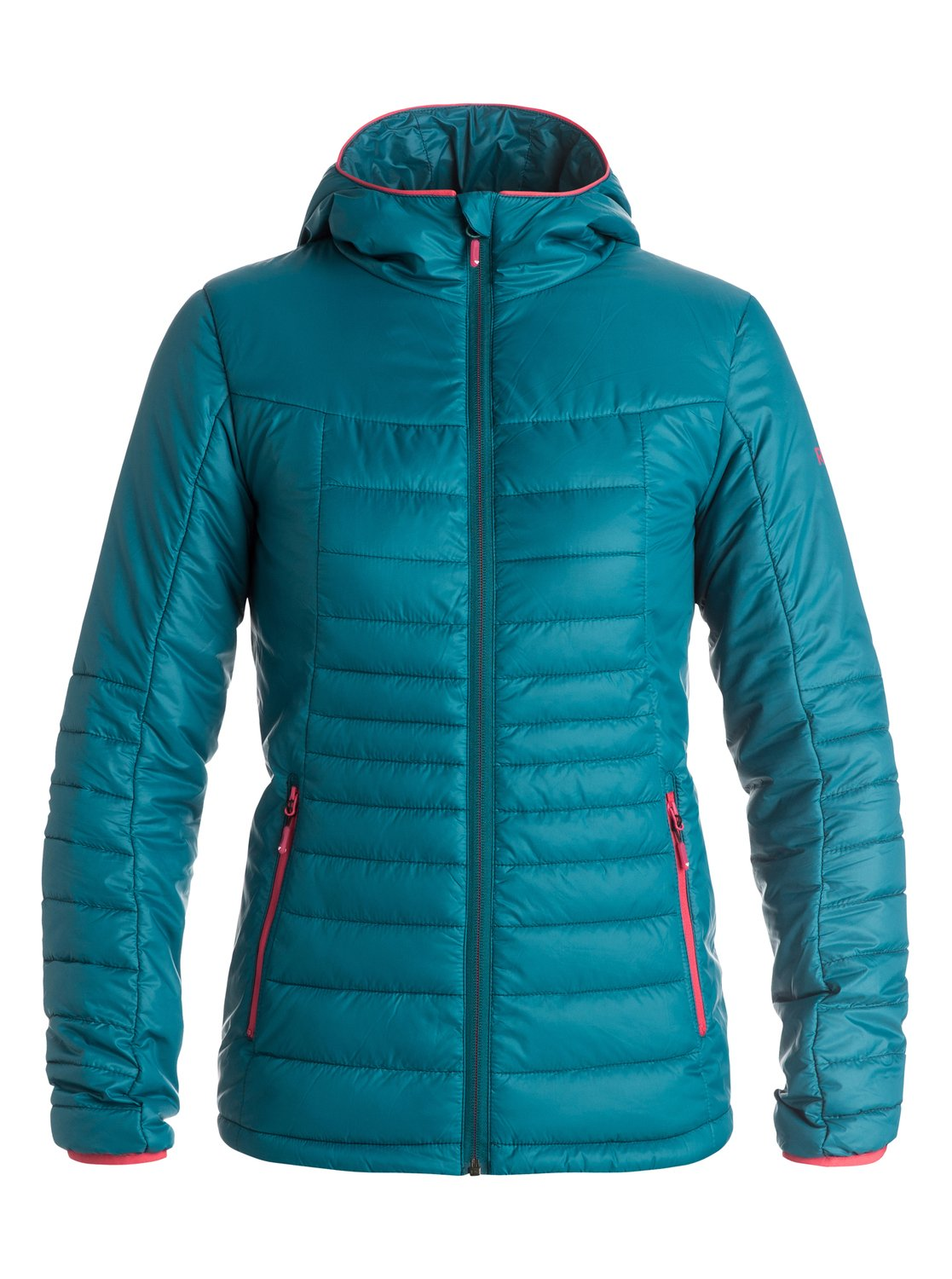 Куртка женская HighlightThe Highlight Insulator jacket for women strategically uses compressible high loft insulation, for absolute insurance in all conditions without sacrificing manoeuvrability. The PrimaLoft® Gold Insulation Luxe quilting looks like down, feels like down and performs like down with the superior wet-weather performance of synthetic fibres. Crafted with DWR ROXY DryFlight® treated nylon ripstop its great at keeping you protected for longer. Ideal for layering or for a spot of sunny spring shedding.<br>