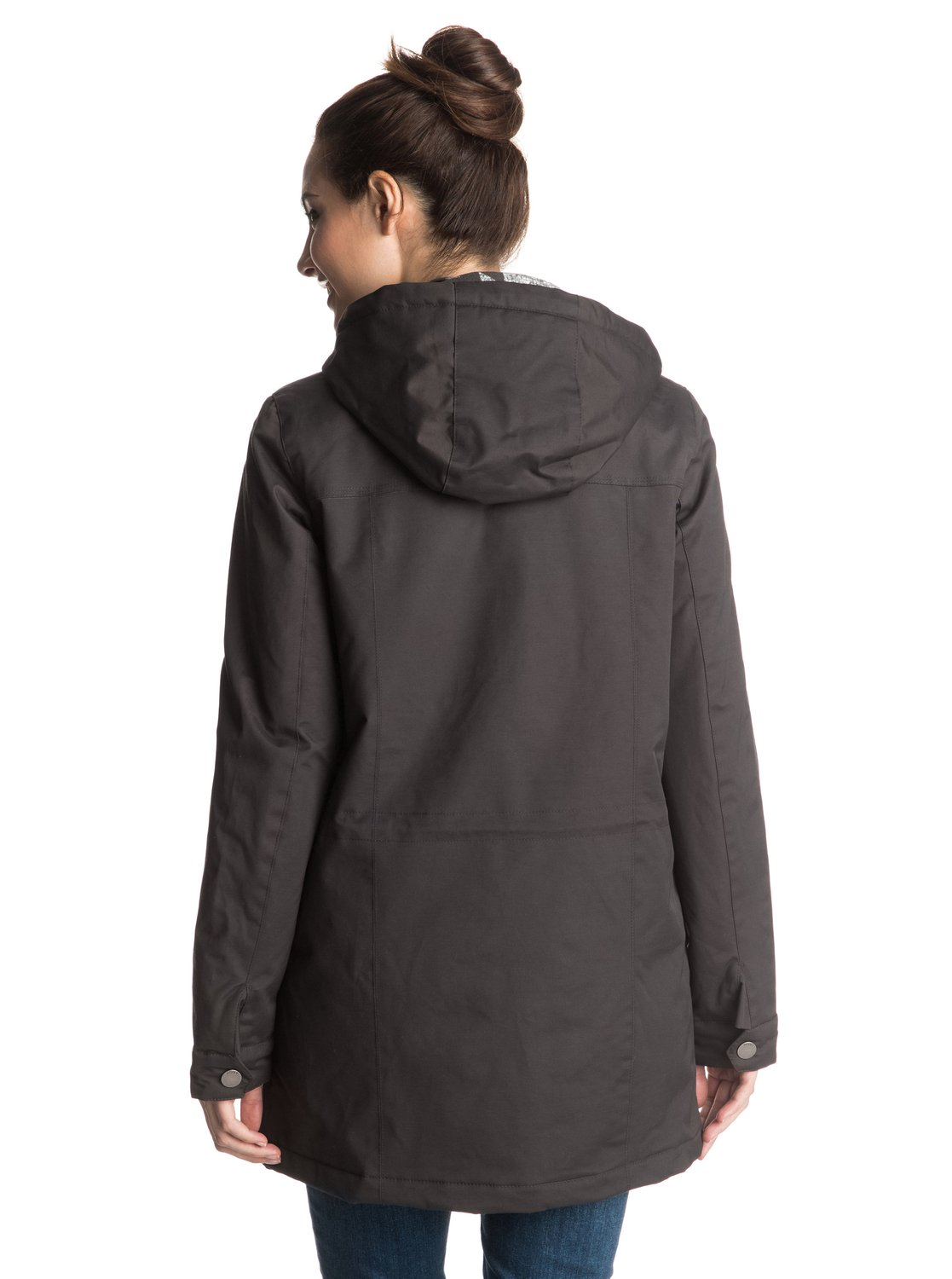 1 Piper Peak - Waterproof Parka Black ERJJK03131 Roxy 7e4ecf7e113