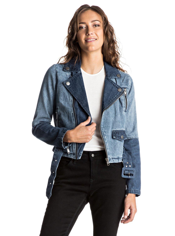 Двухцветная джинсовая куртка Ogeia
