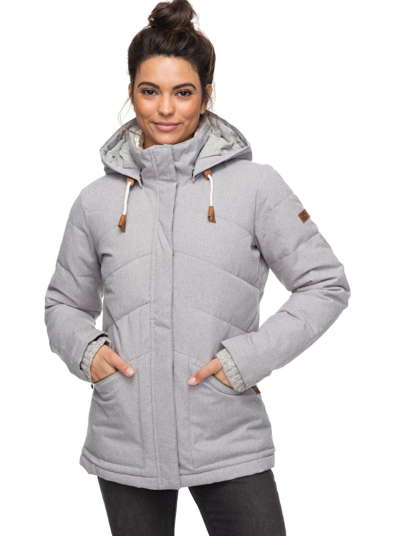 Nancy - Chaqueta aislante impermeable con capucha para Mujer Roxy