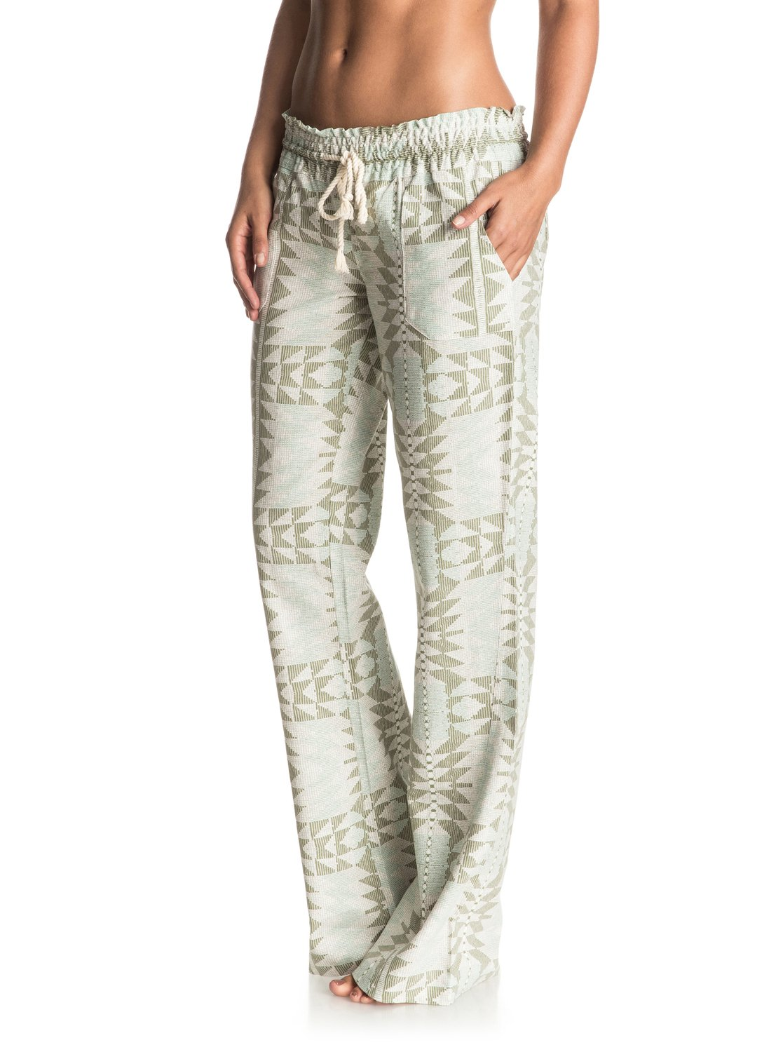 Oceanside Printed Beach Pants Erjnp03088 Roxy