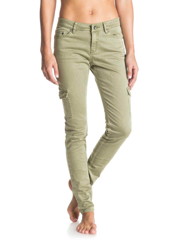 Cargo City - Pantalones Tipo Militar para Mujer Roxy