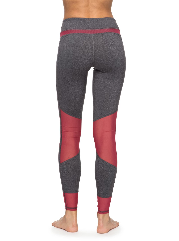hanakka legging de sport taille haute erjnp03130 roxy. Black Bedroom Furniture Sets. Home Design Ideas