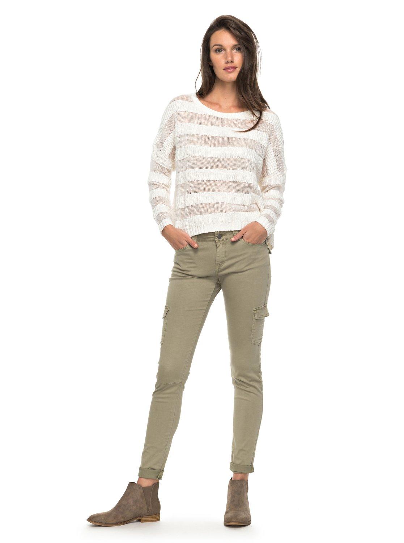 Coast Down - Pantalones cargo de corte estrecho para Mujer Roxy