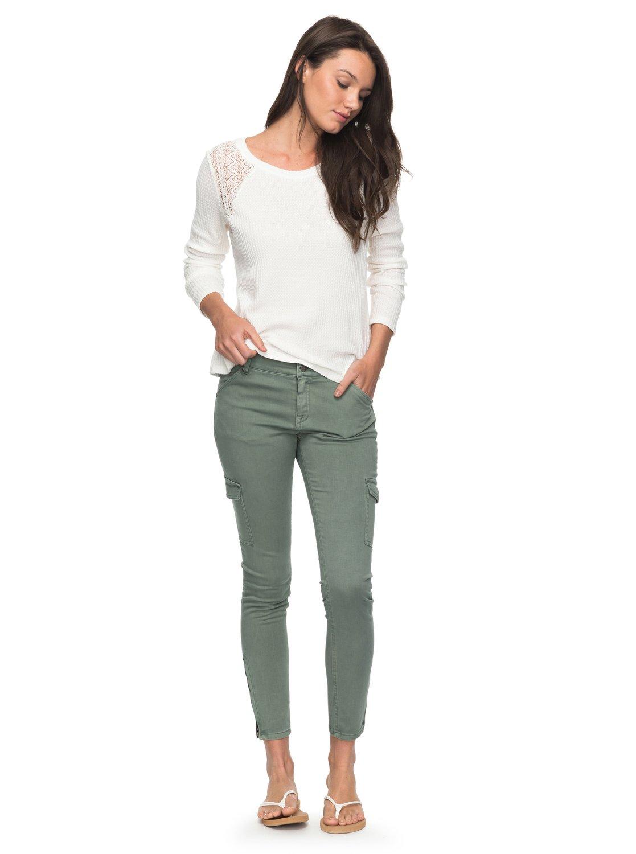 Baya - Pantalón Cargo de Corte Ceñido para Mujer Roxy