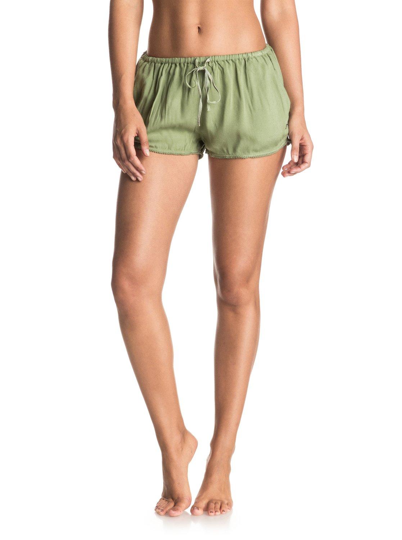 Mystic Topaz - Shorts de viscosilla para Mujer Roxy