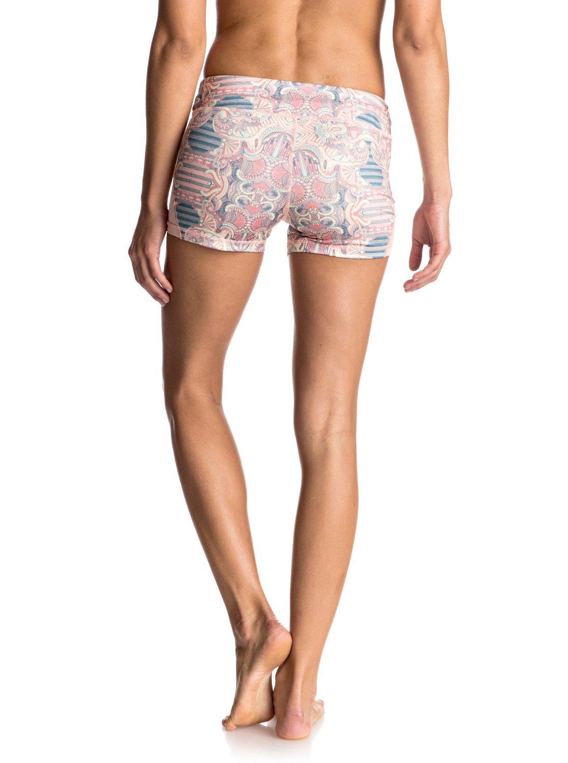 imanee printed sports shorts erjns03091 roxy. Black Bedroom Furniture Sets. Home Design Ideas