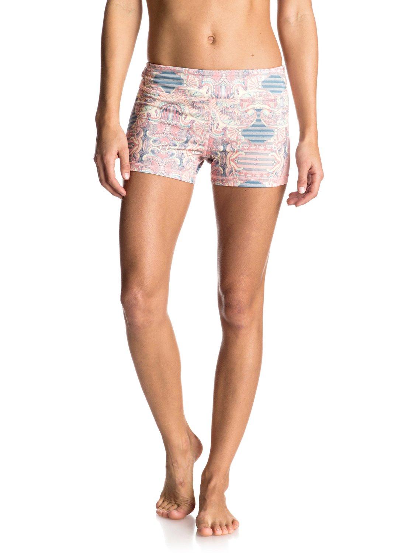 imanee printed shorts deportivos erjns03091 roxy. Black Bedroom Furniture Sets. Home Design Ideas