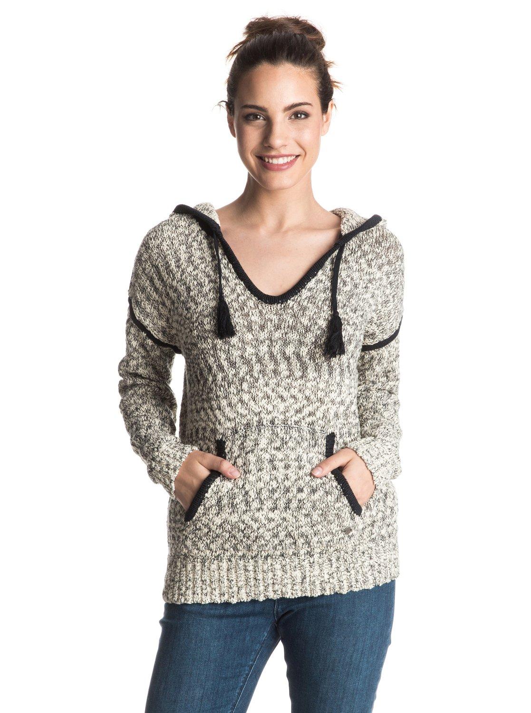 Пуловер женский с капюшоном Dances With Waves