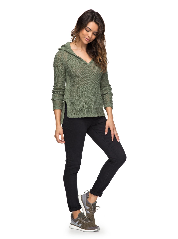 Slouchy Morning Hooded Sweater ERJSW03247 | Roxy