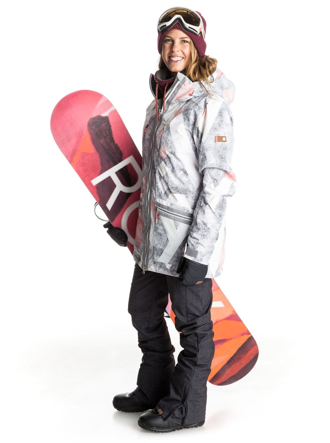 rockferry masque de snowboard erjtg03001 roxy. Black Bedroom Furniture Sets. Home Design Ideas