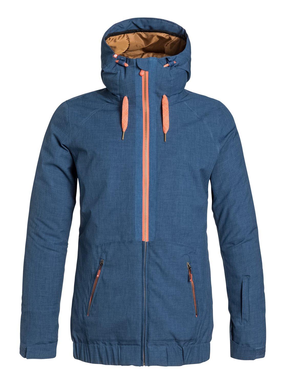 44b6d122b0b5 Valley Hoodie Snowboard Jacket - Roxy