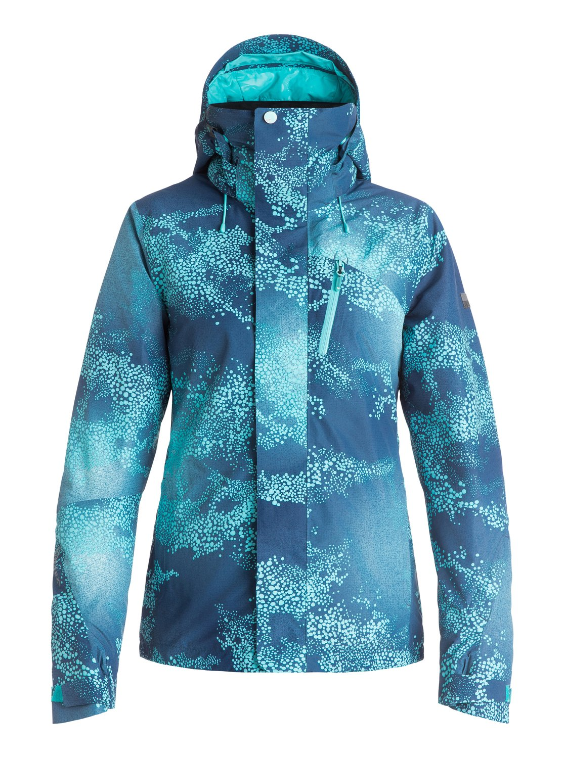 Сноубордическая куртка Wilder Printed 2L GORE-TEX®The Wilder Printed GORE-TEX® 2L snow jacket for women has been designed for powder hounds, the industry-leading, fully-sealed 2-layer waterproof membrane has been insulated with PrimaLoft® Black Insulation Eco for unbeatable warmth and comes complete with a YKK® Aquaguard® water repellent zips, waterproof chest pocket and the GORE-TEX® guaranteed to keep you dry promise so you stay dry when youre chest deep in the backcountry. A host of premium features, easy-to-access pockets and a helmet compatible hood ensure nothing comes between you and that big mountain line while the modern print, distinctly feminine design and tailored fit give this high-performance piece unparalleled style. Includes a ROXY X Biotherm® Enjoy &amp;amp; Care neck warmer that cares for your skin by releasing a high performance complex to keep skin soft and moisturised in harsh mountain conditions.<br>