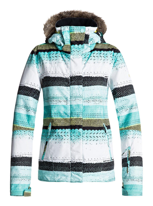 куртка женская roxy jet ski цвет синий erjtj03124 bfk9 размер s 42 Сноубордическая куртка Jet Ski